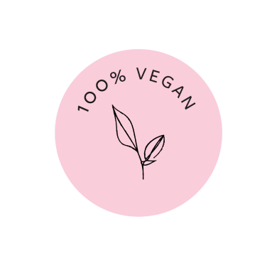 100% Vegan badge