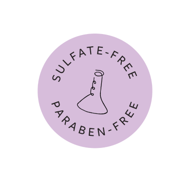 Paraben and Sulfate Free badge